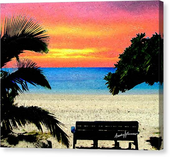 Pensive Place 2 Canvas Print by Anthony Caruso