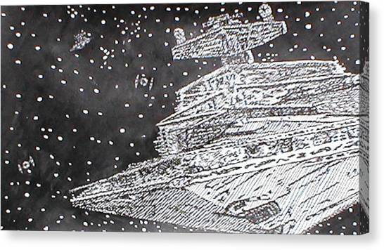 Pepare For Battle Canvas Print by Beth Parrish