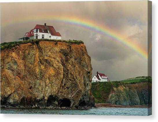 Perce Rainbow Canvas Print