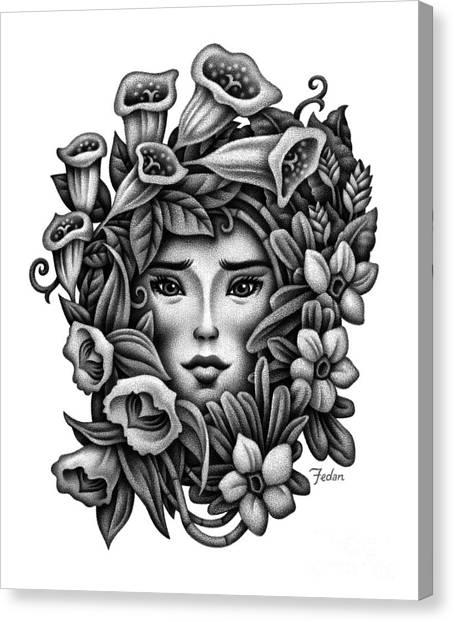 Perception Of Beauty Canvas Print by David Fedan