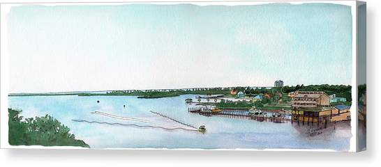 Perdido Key Bay Canvas Print