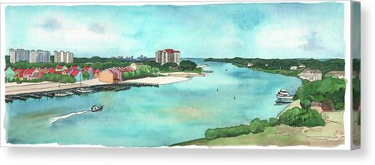 Perdido Key River Canvas Print