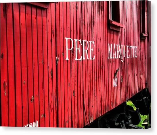 Marquette University Canvas Print - Pere Marquette by Scott Hovind