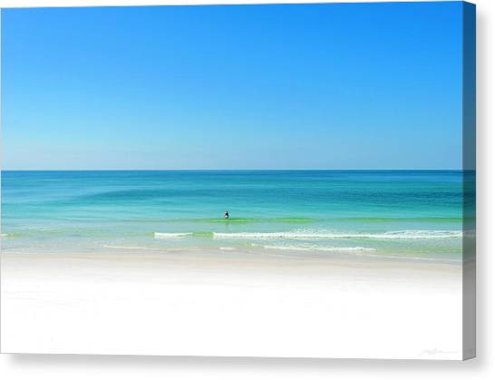 Perfect Beach Day Canvas Print