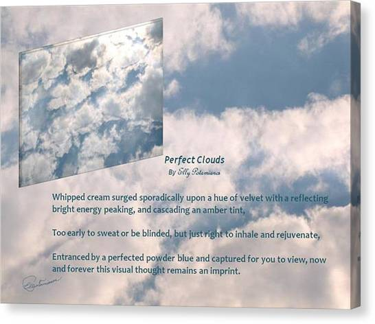 Perfect Clouds Canvas Print
