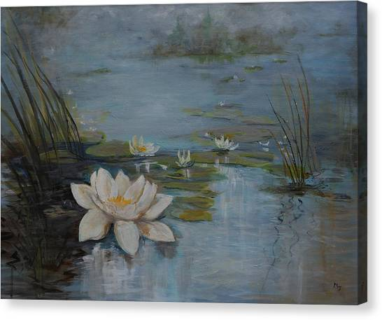Perfect Lotus - Lmj Canvas Print