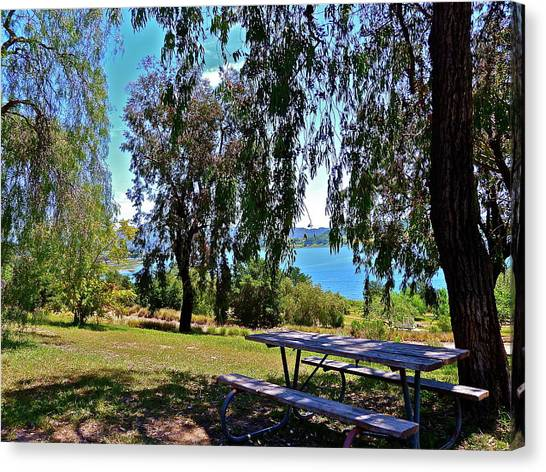 Perfect Picnic Place Canvas Print