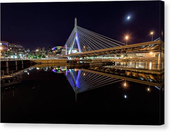 Perfect Reflection Canvas Print