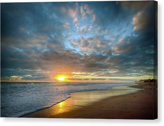 Perfect Start Sunrise Canvas Print
