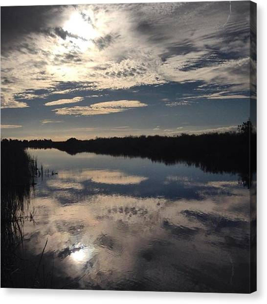 Everglades Canvas Print - Perfect Sunday - 20 Minutes From by Erin Ryan