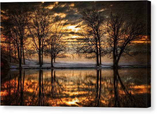 Syracuse University Canvas Print - Perfect Sunset by Everet Regal