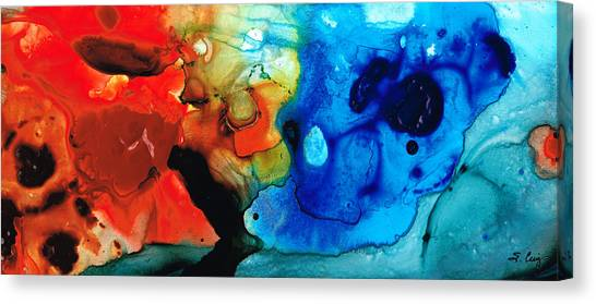 Primary Canvas Print - Perfect Whole And Complete By Sharon Cummings by Sharon Cummings