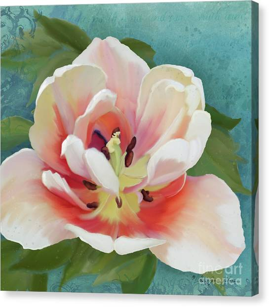 Oversized Canvas Print - Perfection - Single Tulip Blossom by Audrey Jeanne Roberts