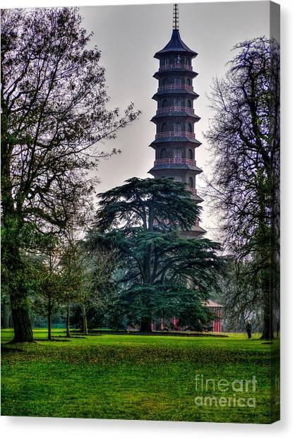 Pergoda Kew Gardens Canvas Print