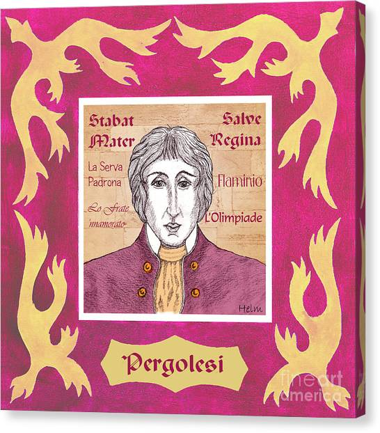 Pergolesi Canvas Print by Paul Helm