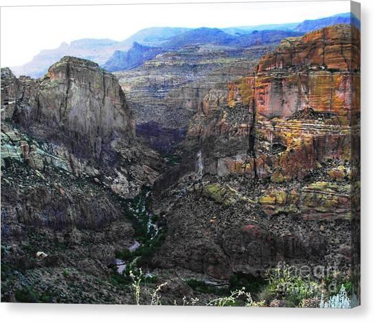 Perilous U.s. Route 88 Canvas Print