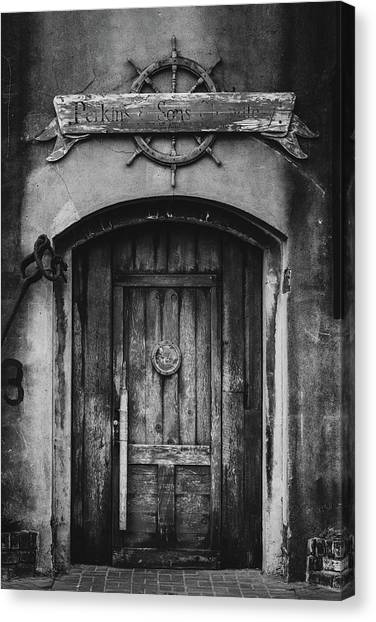 Perkins And Sons Door Canvas Print