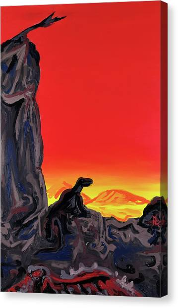 Permian Outpost Canvas Print
