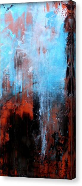 Gerhard Richter Canvas Print - Perplexity 3 by Holly Anderson