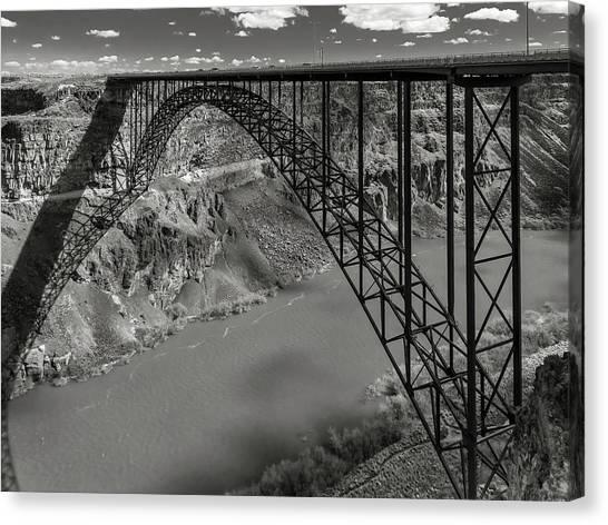 Perrine Bridge, Twin Falls, Idaho Canvas Print