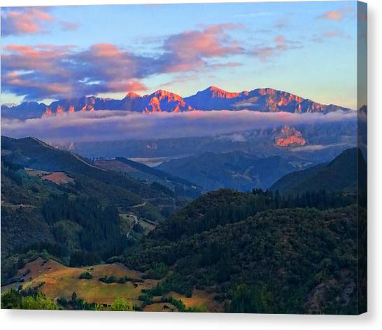 Perrozo Morning Canvas Print