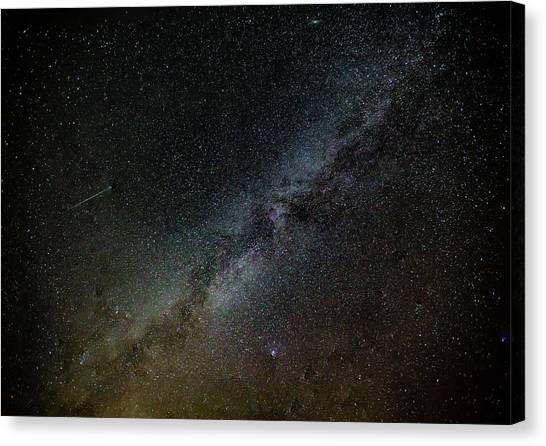 Perseid Meteor Canvas Print