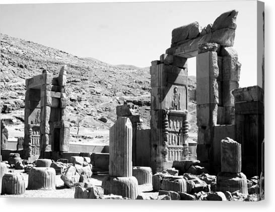 Persepolis Canvas Print by Tia Anderson-Esguerra