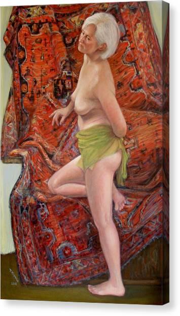 Persian Rug 4 Canvas Print