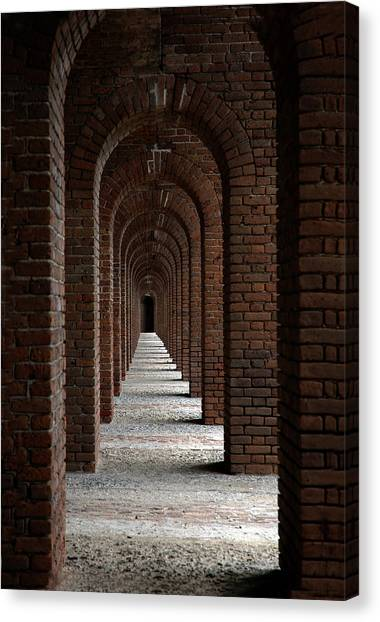 Architectur Canvas Print - Perspectives by Susanne Van Hulst
