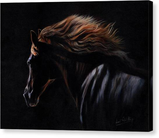 Peruvian Canvas Print - Peruvian Paso Horse by David Stribbling