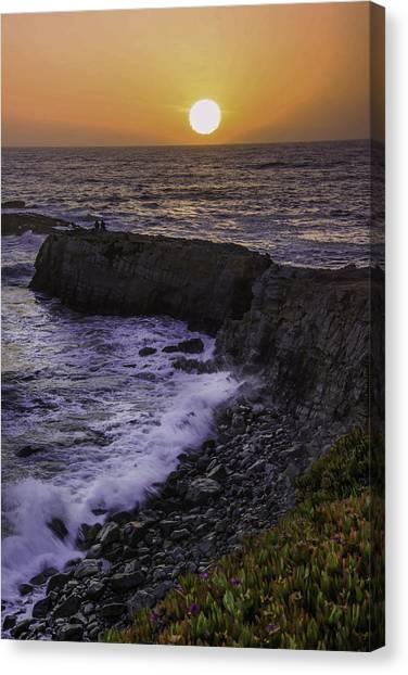 Pescadero Sunset Canvas Print