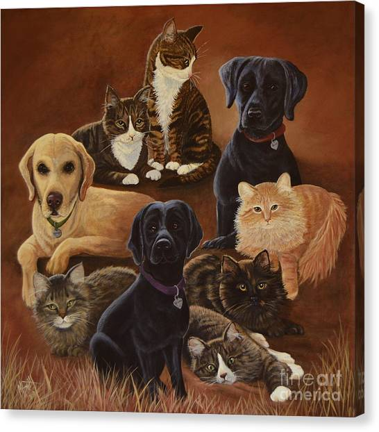 Canvas Print - Pet Circle Of Life by Marilyn Smith