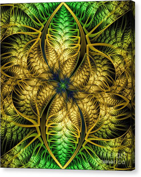 Petals Of Life Canvas Print