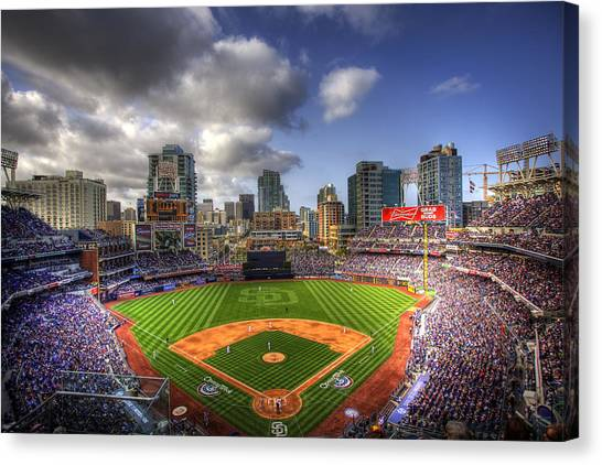 Petco Park Opening Day Canvas Print