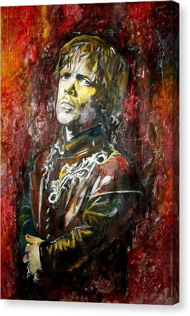 Lannister Canvas Print - Peter Dinklage - Game Of Thrones by Marcelo Neira