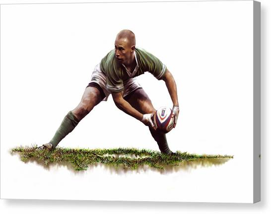 Peter Stringer Canvas Print by James Robinson