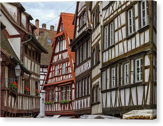 Petite France Houses, Strasbourg Canvas Print