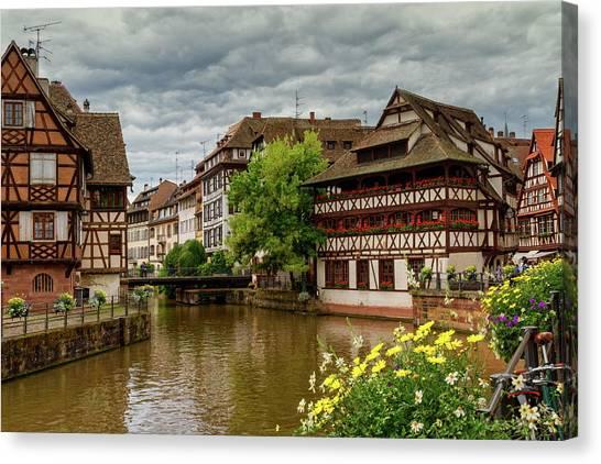 Petite France, Strasbourg Canvas Print