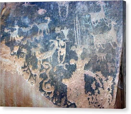 Petroglyph Canvas Print