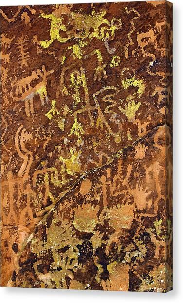Petroglyph Records Canvas Print