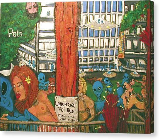 Pets Canvas Print