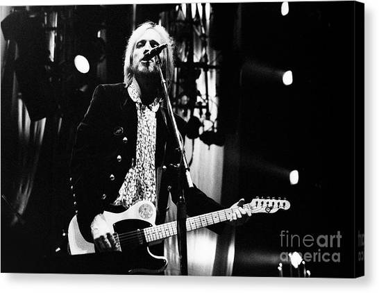 Tom Petty Canvas Print - Petty-95-tom-0502 by Gary Gingrich Galleries