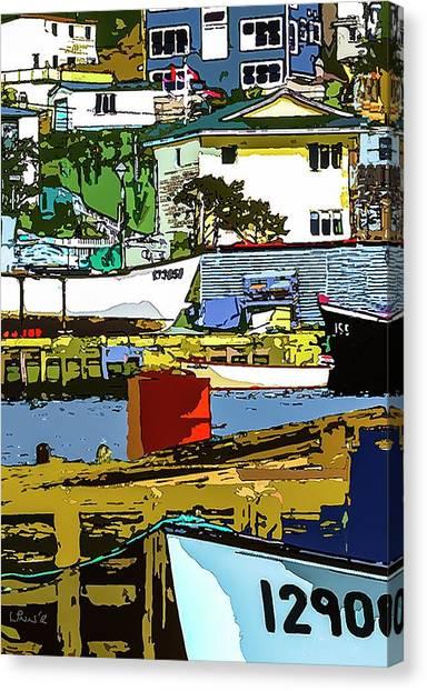Petty Harbor Canvas Print