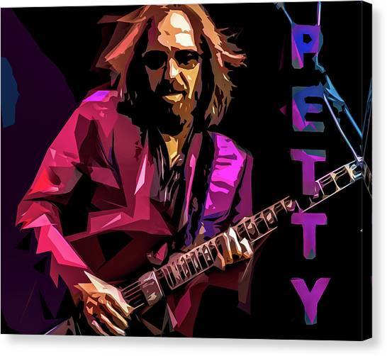 Petty Canvas Print