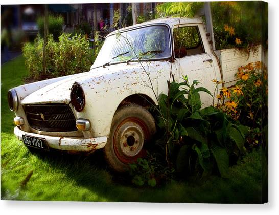 Peugeoted Canvas Print by Jez C Self
