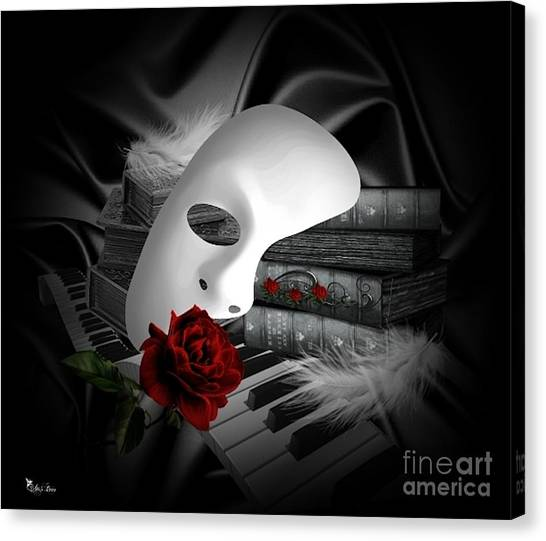 Phantom Of The Opera Canvas Print