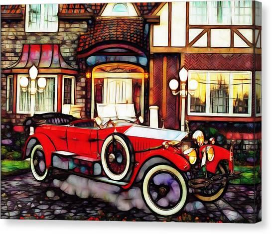Phantom Rolls Royce 1935 Canvas Print