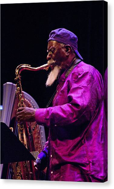 Pharoah Sanders 6 Canvas Print