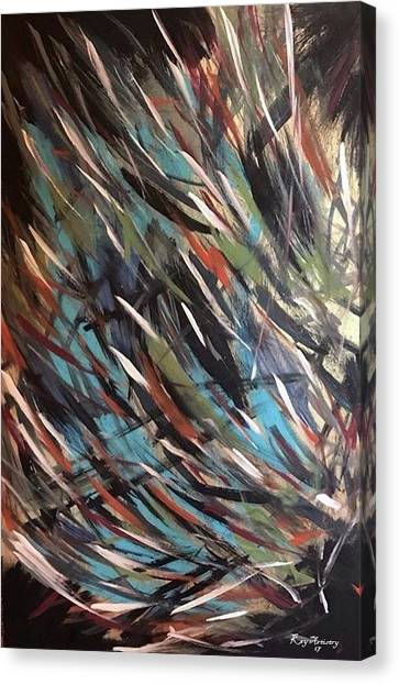 Stroke Canvas Print - Phases by Key Artistry