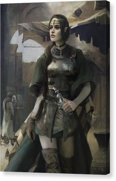 Elves Canvas Print - Phial by Eve Ventrue